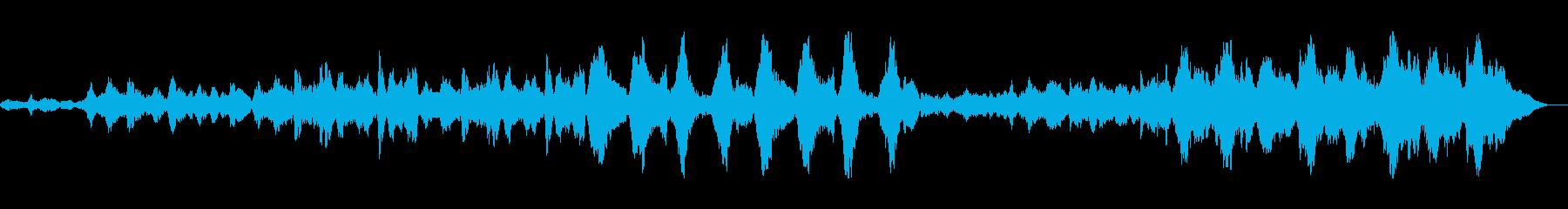 バイオリン等を使用したアンビエントの再生済みの波形