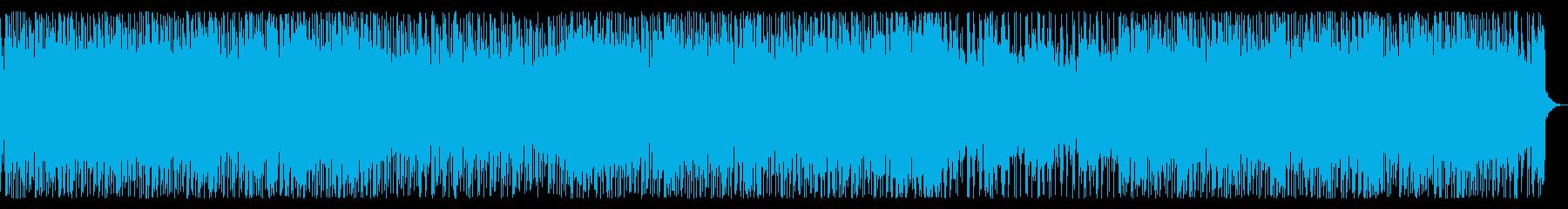 80s シンセロック・アウトラン・追跡の再生済みの波形