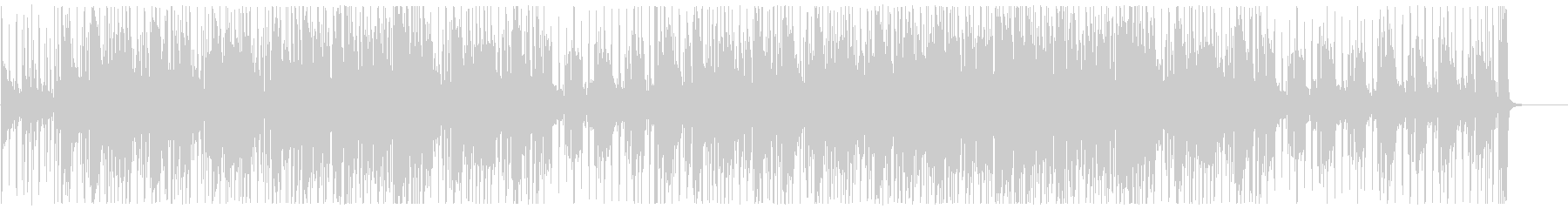 ガムランが旋律のアジアンテイストファンクの未再生の波形