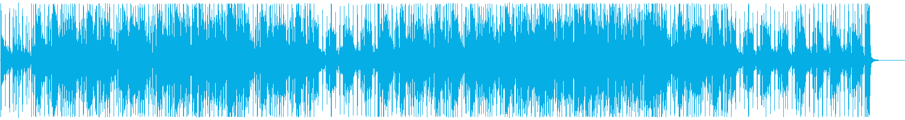ガムランが旋律のアジアンテイストファンクの再生済みの波形