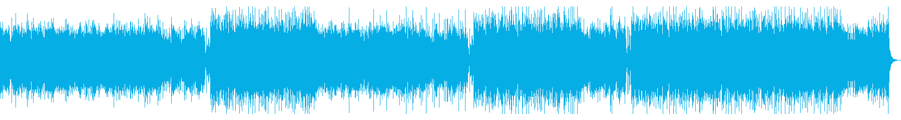 企業VP・高揚感と疾走感あるピアノEDMの再生済みの波形
