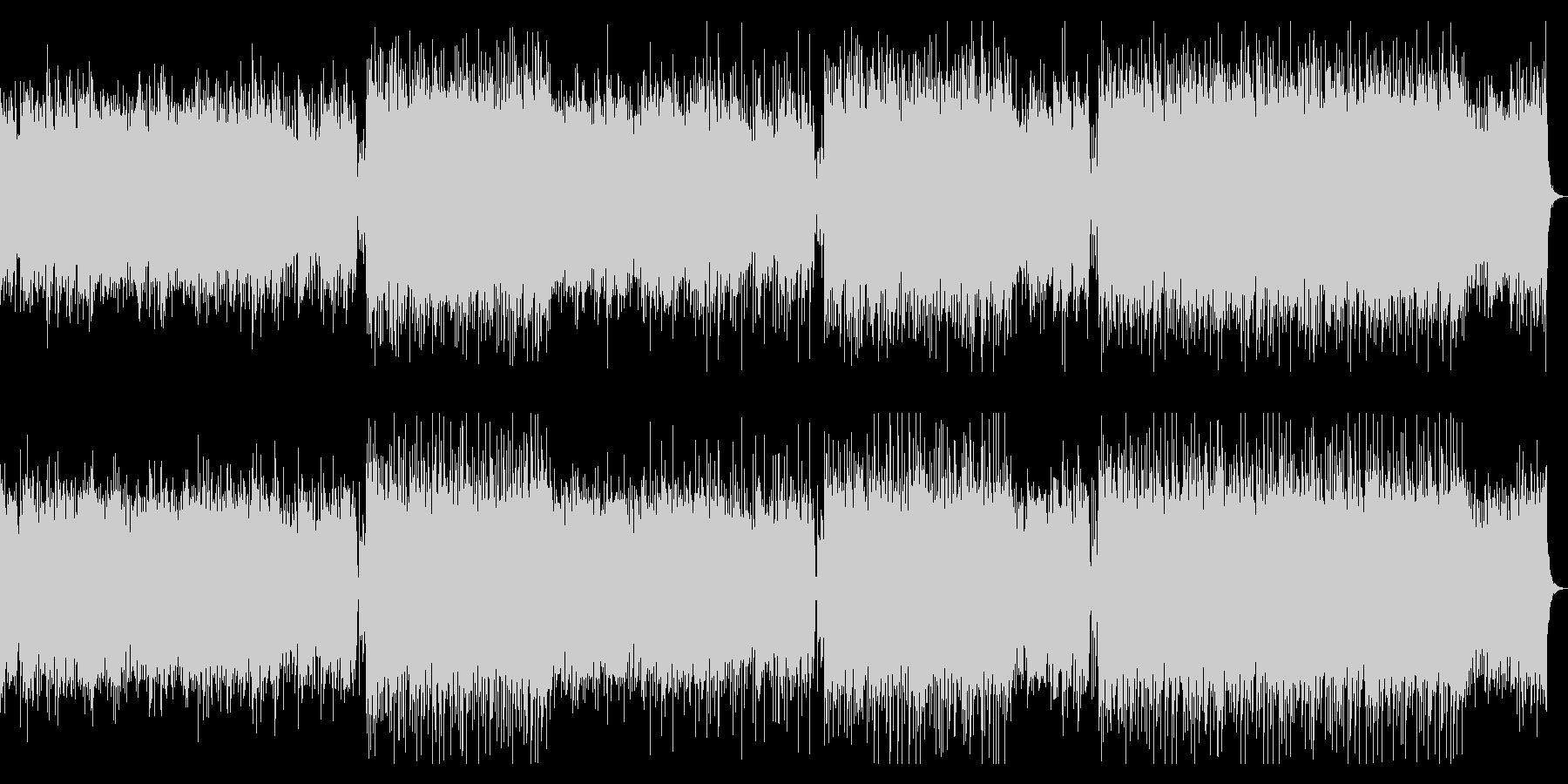 企業VP・高揚感と疾走感あるピアノBGMの未再生の波形