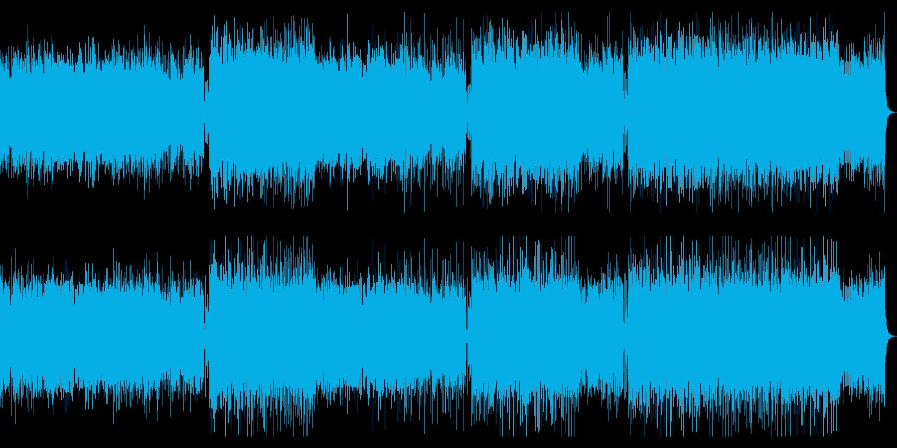 企業VP・高揚感と疾走感あるピアノBGMの再生済みの波形