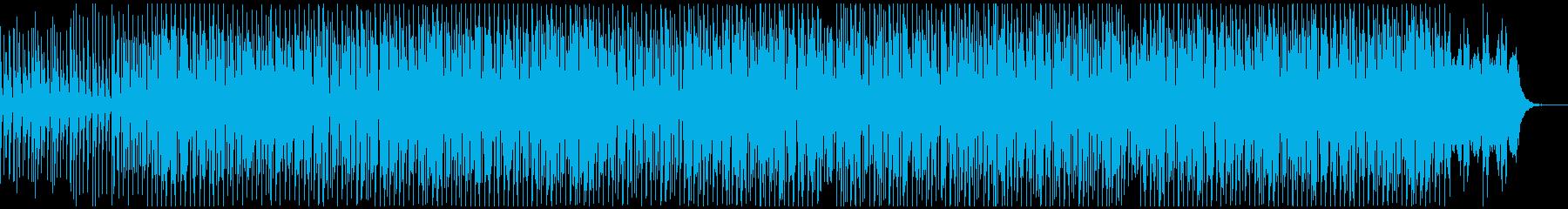 ノリが良い民族的なエスニックBGMの再生済みの波形