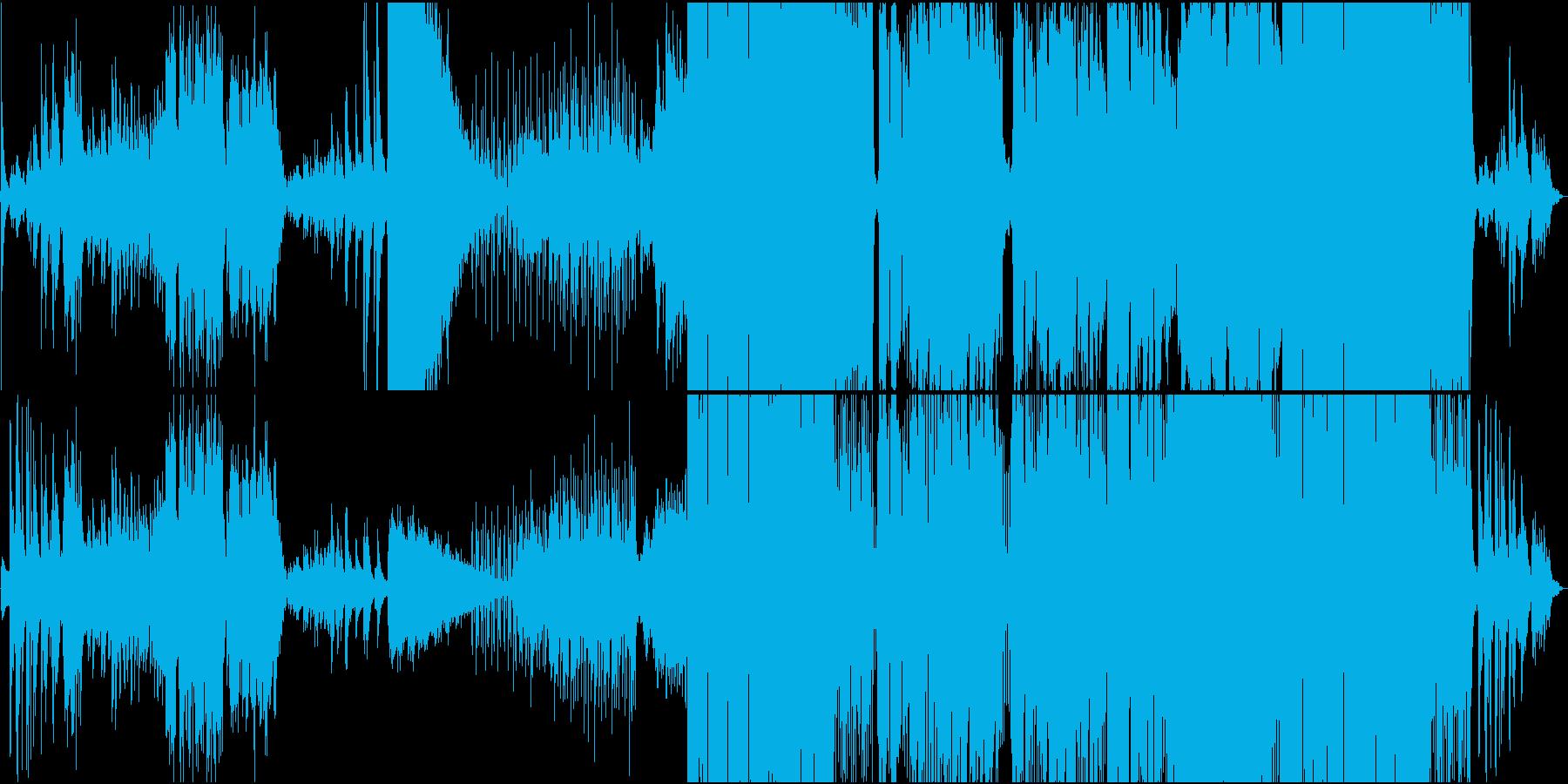 異国情緒、怪しげエキゾチックなBGMの再生済みの波形