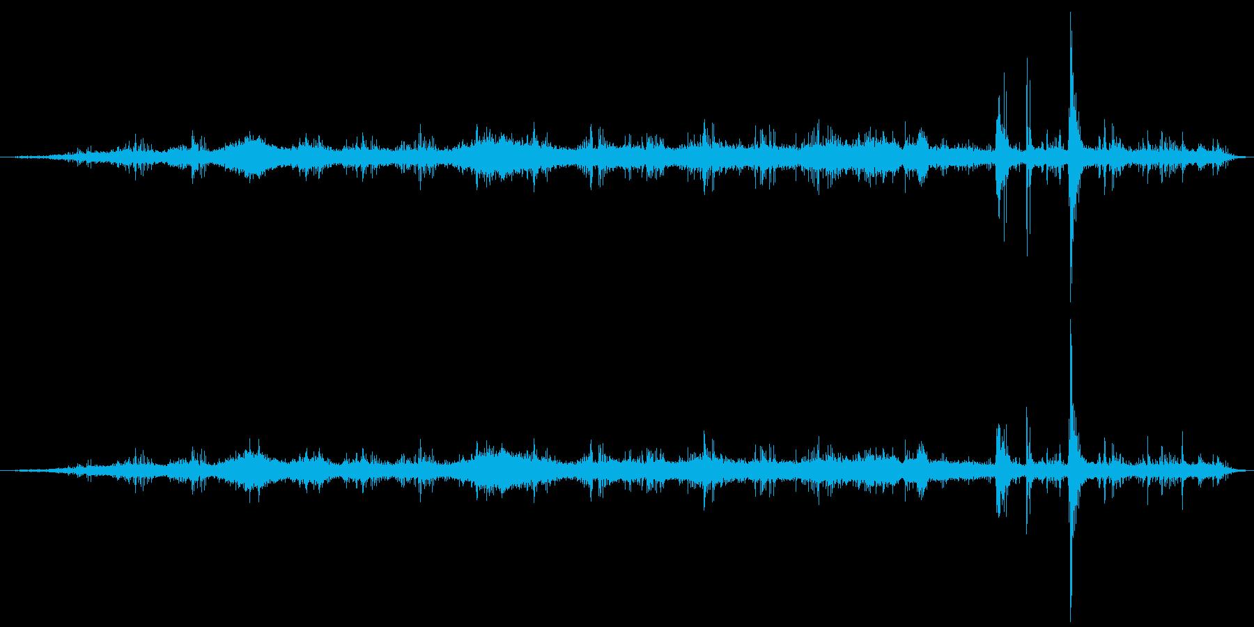 ボウリングボールリターンマシン:ボ...の再生済みの波形