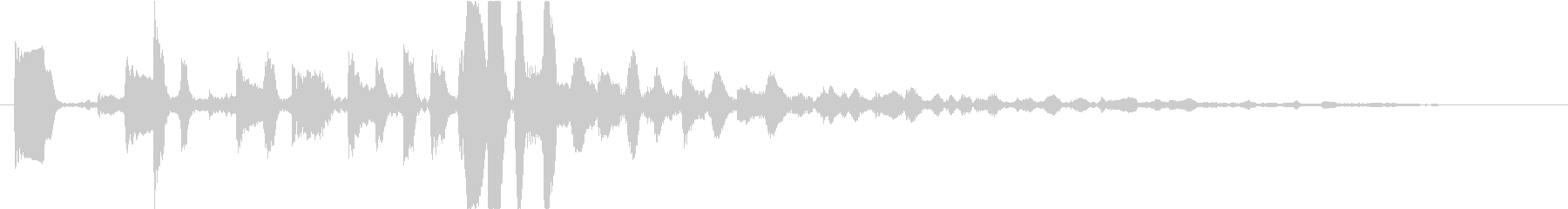 Cool and short synth jingle's unreproduced waveform
