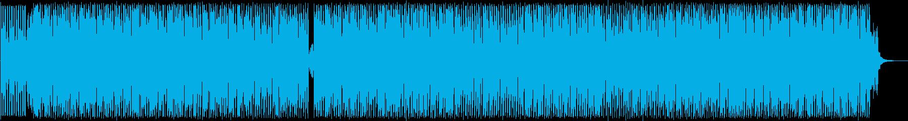 未来感覚的コミカルな和風ポップスの再生済みの波形