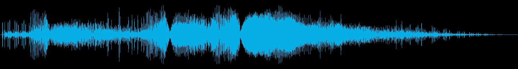【バイク】ド迫力のアクセル,ふかす01の再生済みの波形