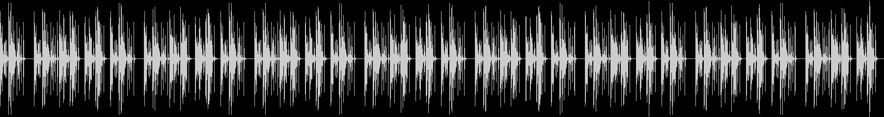 おっちょこちょいなBGMマリンバ・木琴の未再生の波形