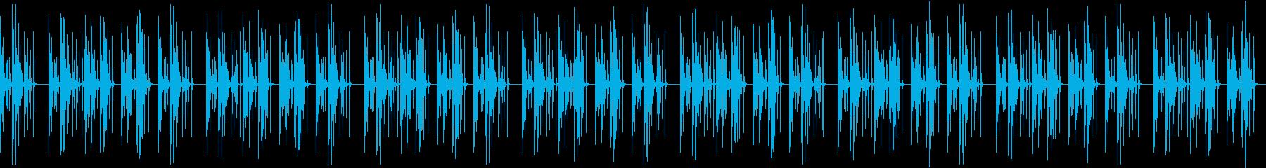 おっちょこちょいなBGMマリンバ・木琴の再生済みの波形