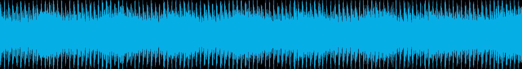 格闘ゲームのキャラクター選択の曲の再生済みの波形