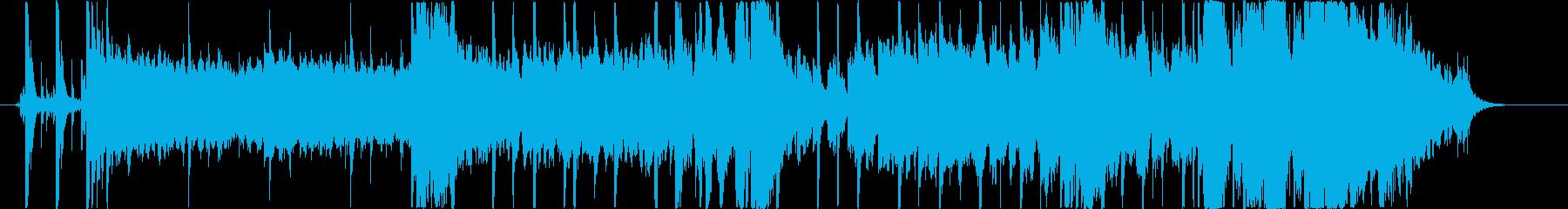アシッドジャズ風ジングル・サウンドロゴの再生済みの波形