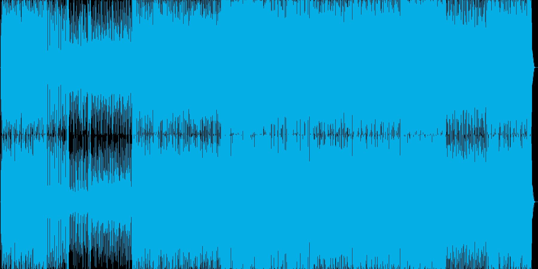 リズミカルでノリの良いJazzの再生済みの波形