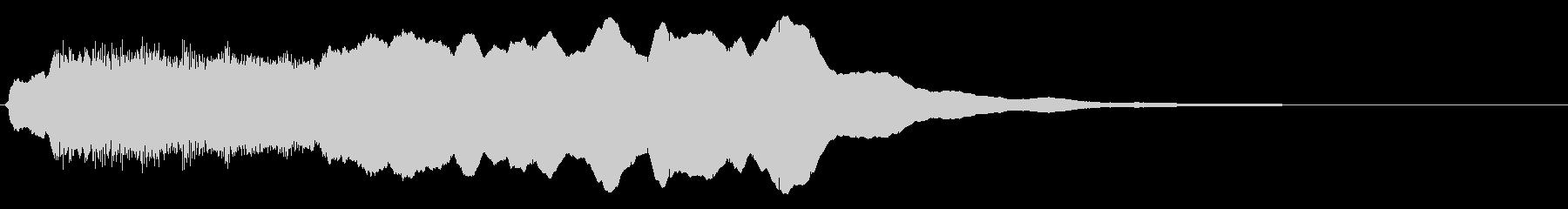 トッカータ風ジングル 01の未再生の波形