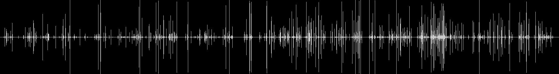 カチカチ(ゲームコントローラーの音)の未再生の波形