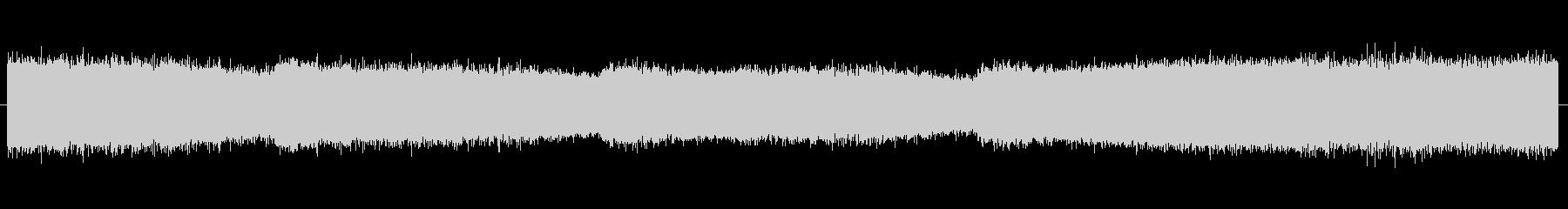 セミの鳴き声 01の未再生の波形