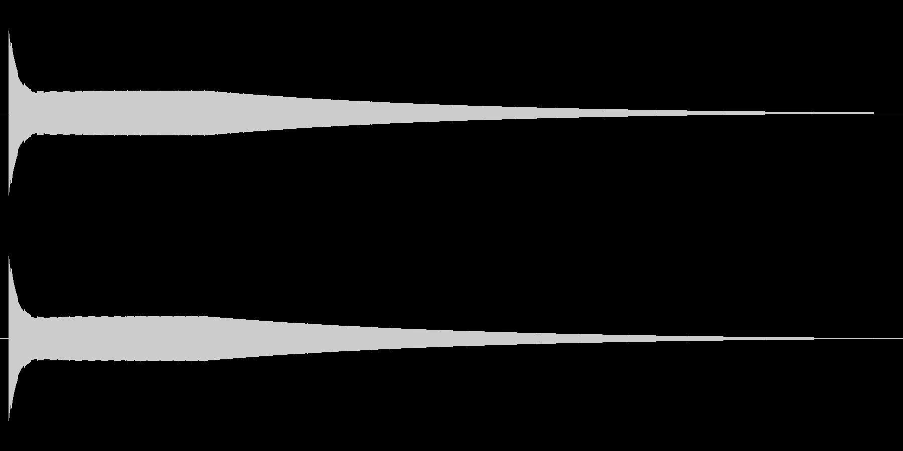 昭和のUFO飛行音の未再生の波形