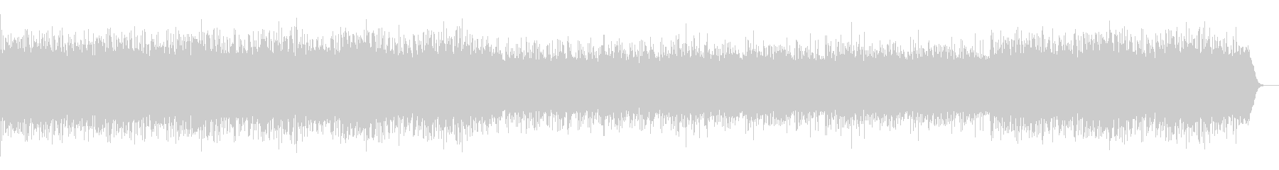 管弦楽組曲第一番 ブーレの未再生の波形