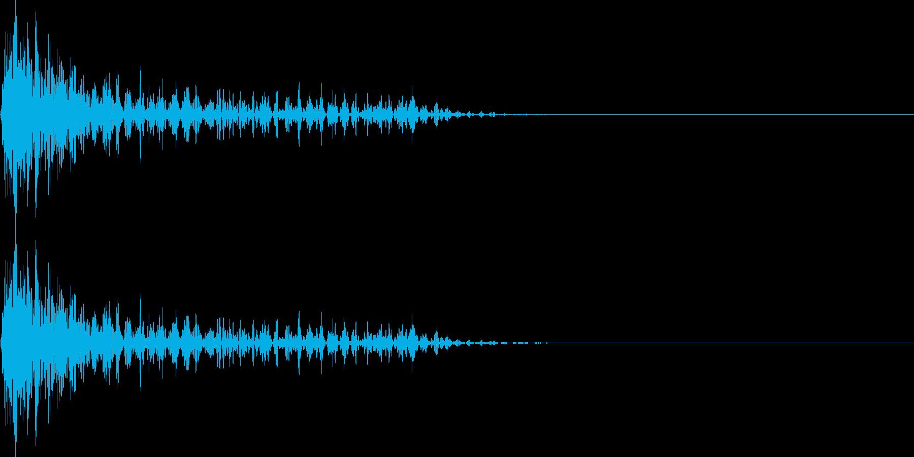 ブワーン(マイナス_ミス_少し長い)の再生済みの波形