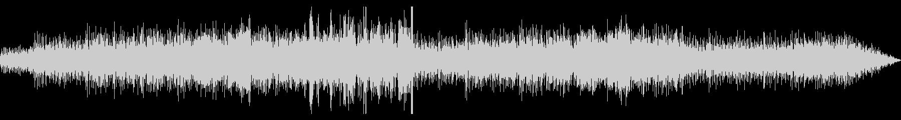 スペイン音楽風ポップスの未再生の波形