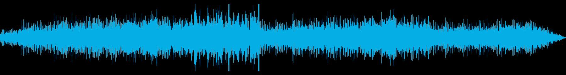 スペイン音楽風ポップスの再生済みの波形