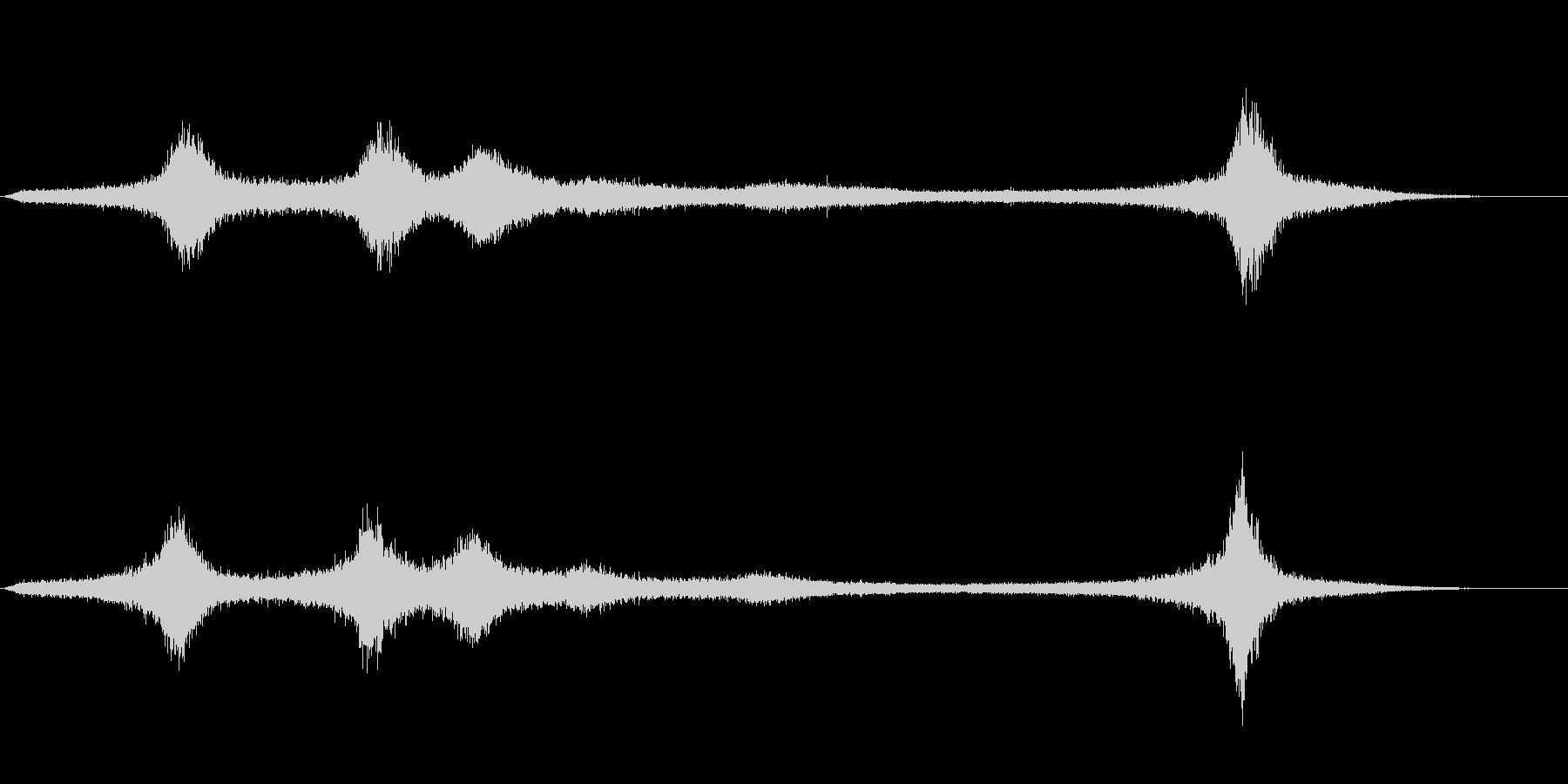 【生録音】 早朝の街 交通 環境音 24の未再生の波形
