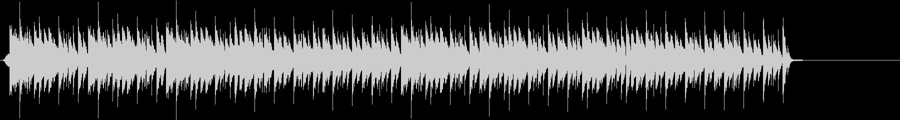 機械的なクールなBGMの未再生の波形