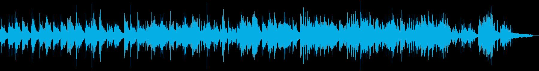 明るくセンチメンタルなピアノソロバラードの再生済みの波形