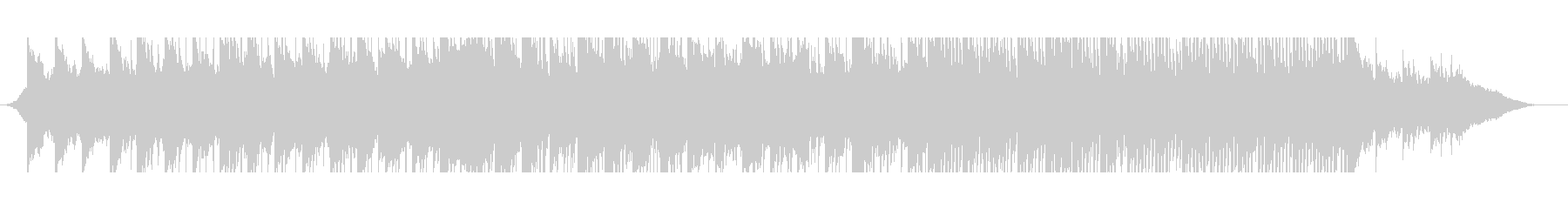 Positive corporate music full's unreproduced waveform