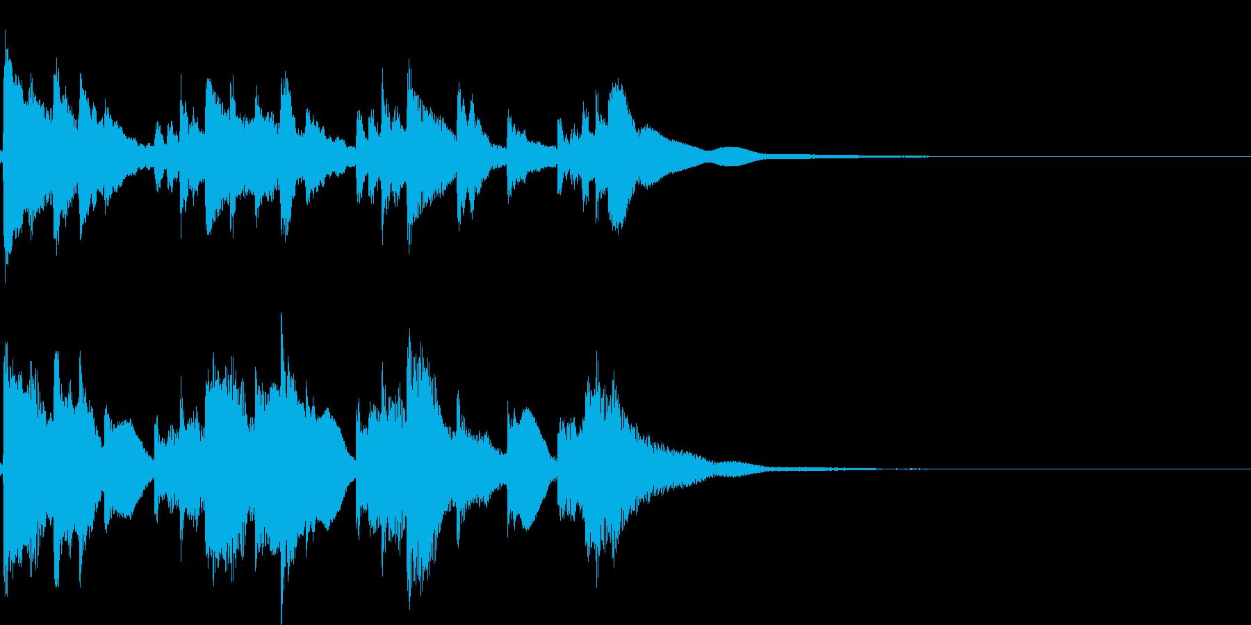 アイキャッチ4 リバーブ有の再生済みの波形