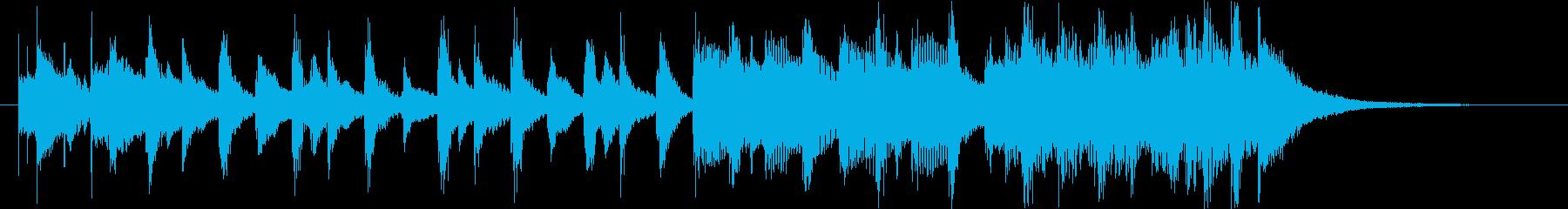 軽快切ない哀愁レゲエラテンヒップホップfの再生済みの波形