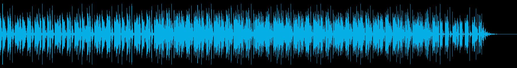 ほのぼの日常系ポップス風レゲエの再生済みの波形