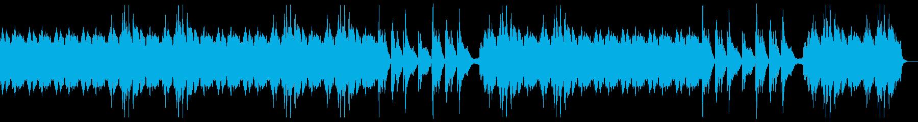 (ドラム抜)ゆったりとした曲、ほのぼの系の再生済みの波形