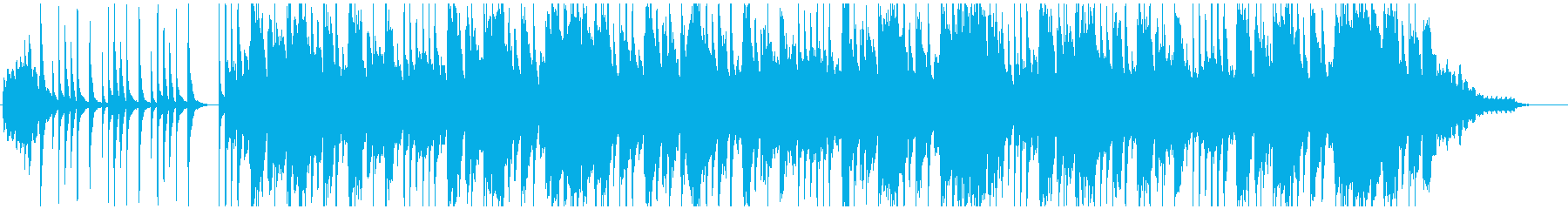 セクシーなテナーサックスの再生済みの波形