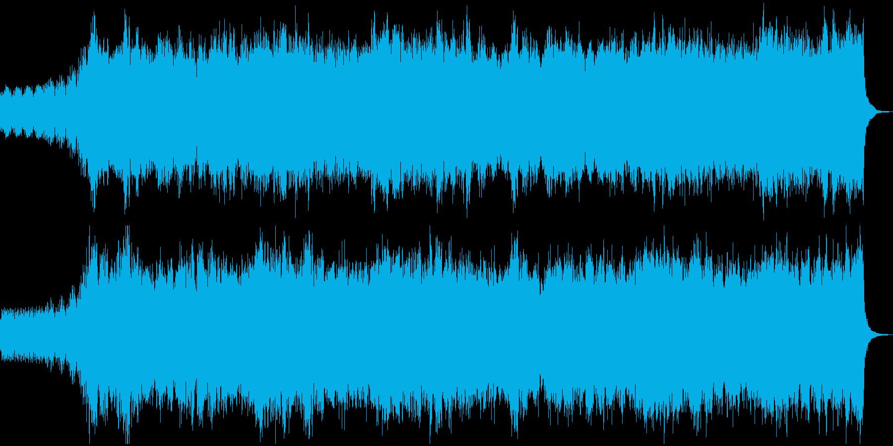 トランペットの爽やかなフィールド系BGMの再生済みの波形