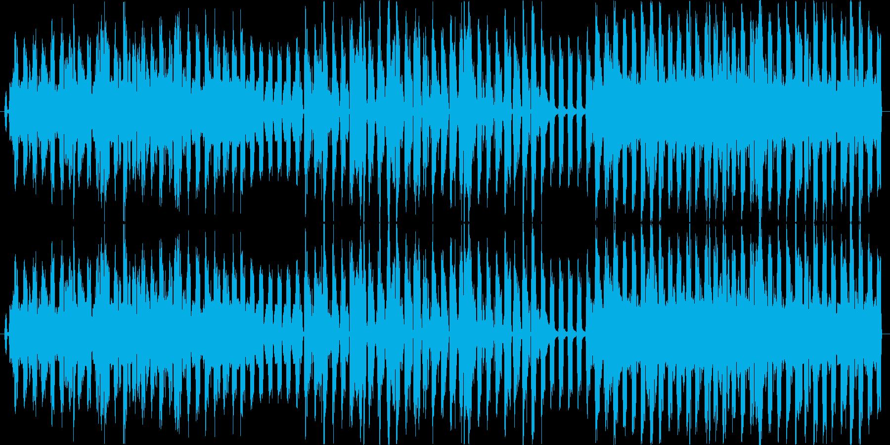 シューベルトの野ばらをカバーの再生済みの波形