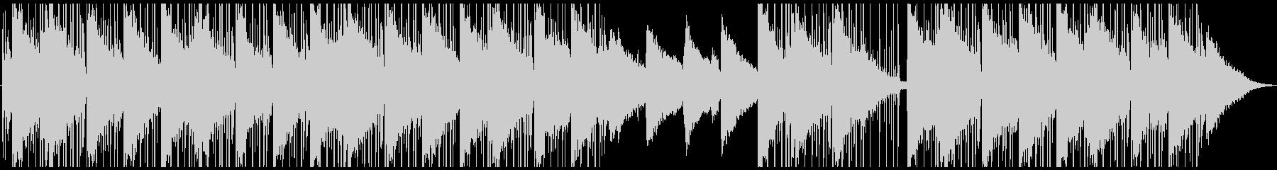 スタイリッシュなローファイヒップホップの未再生の波形