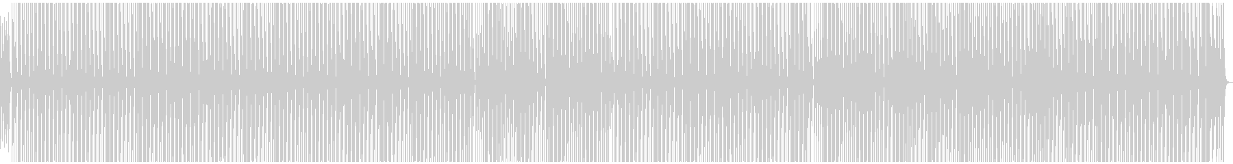 マリンバ中心ほのぼの楽しい雰囲気のBGMの未再生の波形