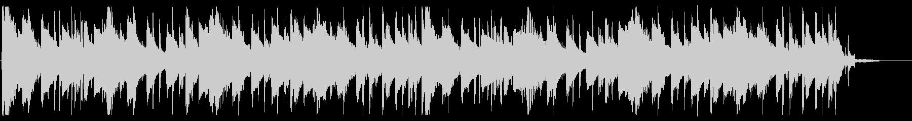 落ち着いたピコピコとしたBGM_4の未再生の波形