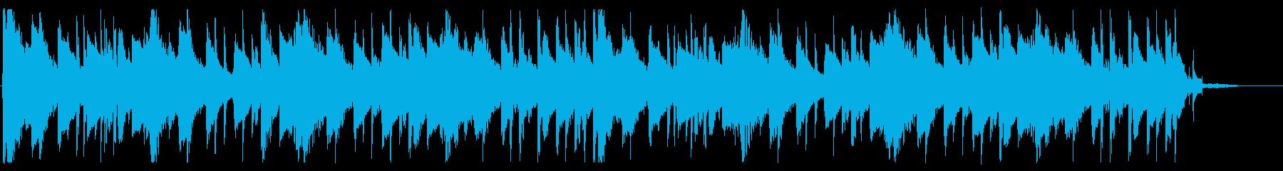 落ち着いたピコピコとしたBGM_4の再生済みの波形