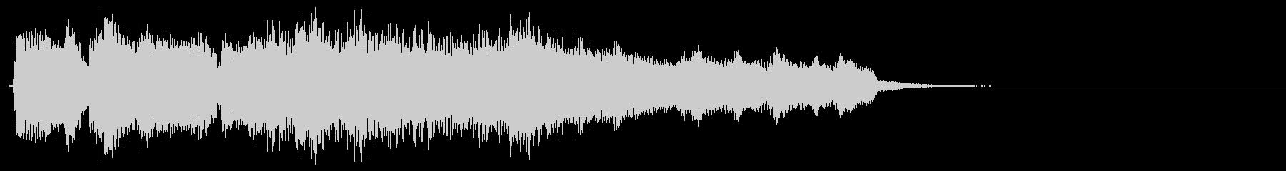 ジャズのアイキャッチ、ニュース系、管楽器の未再生の波形