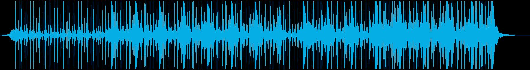 カントリー 野生 パーカッションの再生済みの波形