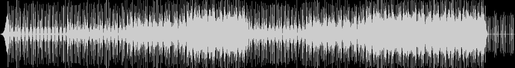 ピコピコ音が印象的なコミカルなBGMの未再生の波形