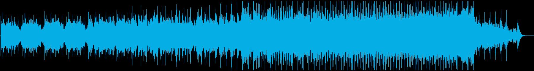 クールでスタイリッシュなテクスチャー楽曲の再生済みの波形