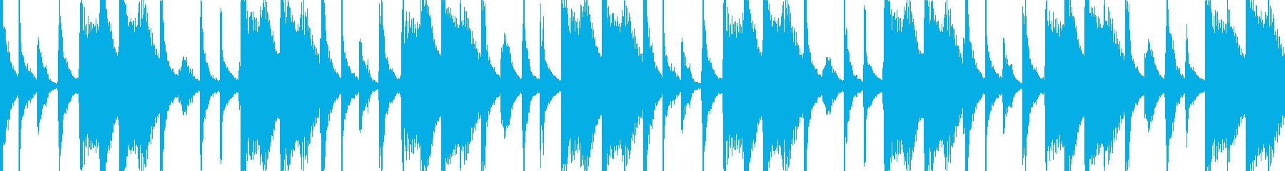 ブラジル北東部の宗教音楽イジェシャの再生済みの波形