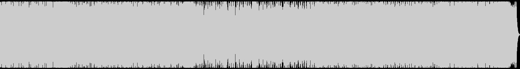 HR/HM・緊迫感のあるギターサウンドの未再生の波形