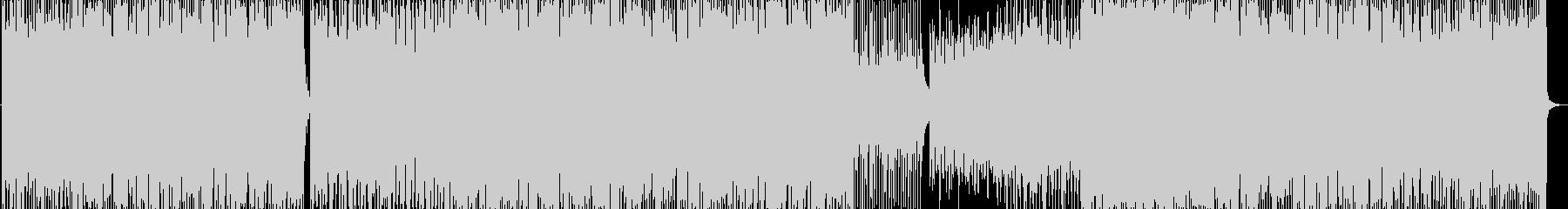 明るい疾走感のあるブラスセクション曲の未再生の波形