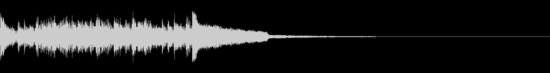 ニュース ラジオ テクノジングル11の未再生の波形