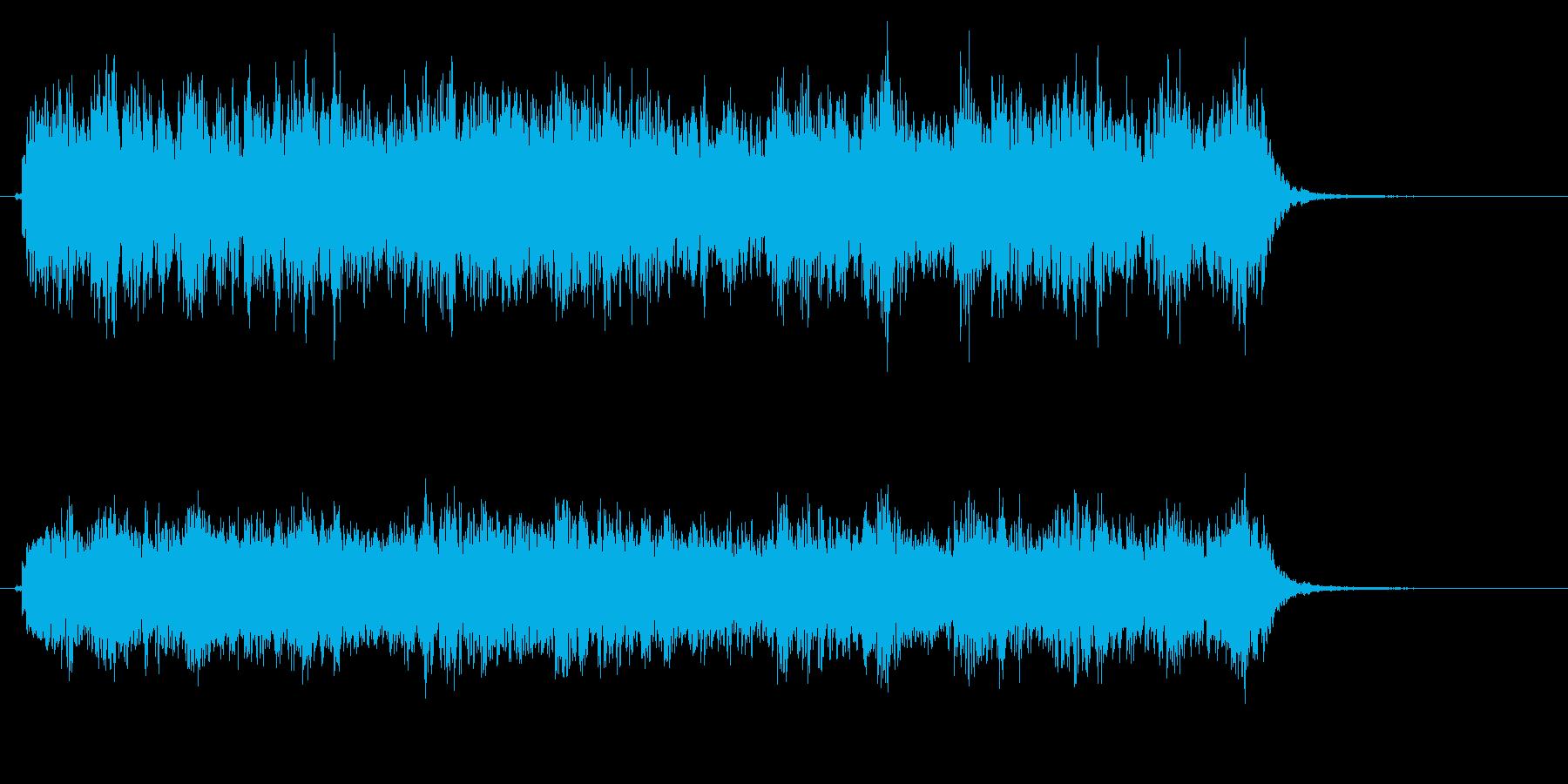 時計 アラーム05-3(遠い)の再生済みの波形